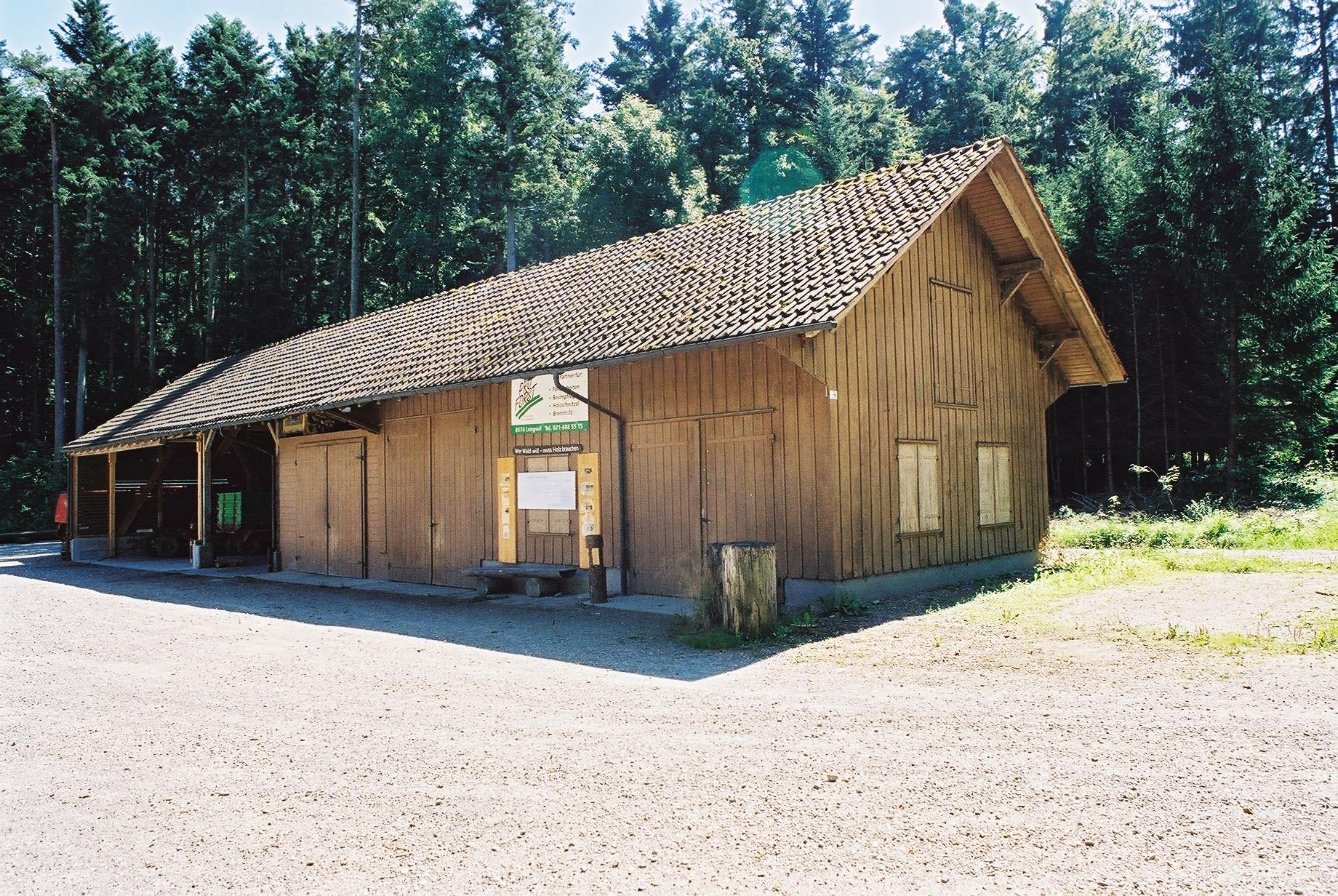 Waldhaus Baerenhoelzli Ansicht